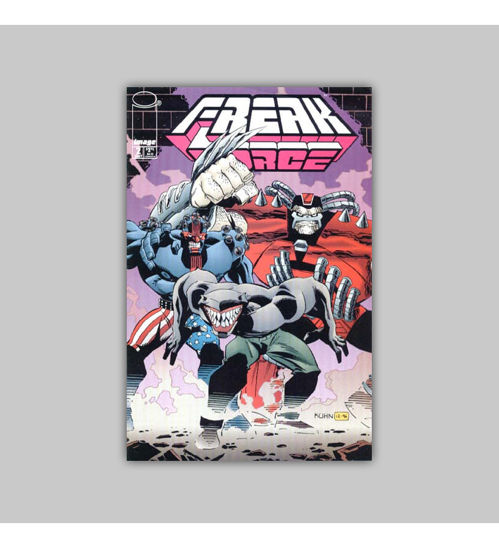 Freak Force (complete limited series) 1997