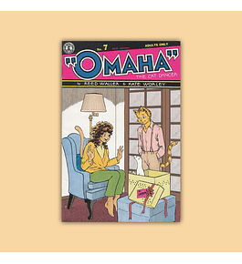 Omaha the Cat Dancer 7 2nd printing 1988