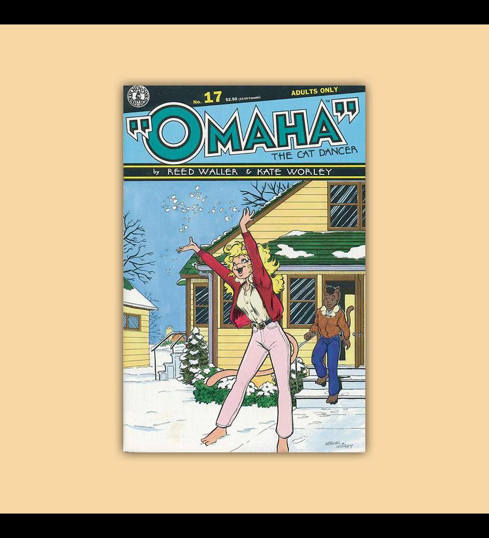 Omaha the Cat Dancer 17 1992
