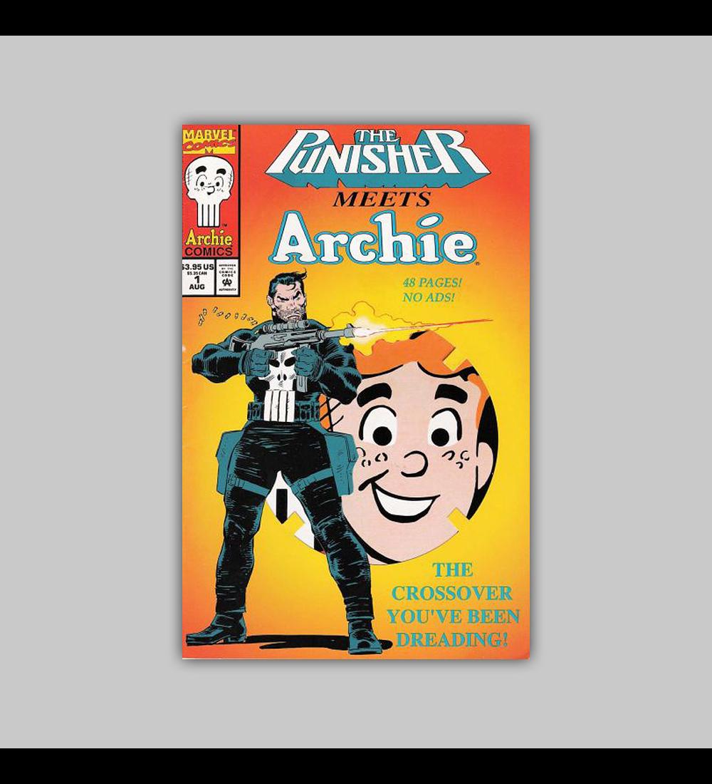Punisher Meets Archie 1 Die-cut 1994