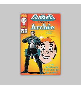Punisher Meets Archie 1 Die-cut 1994