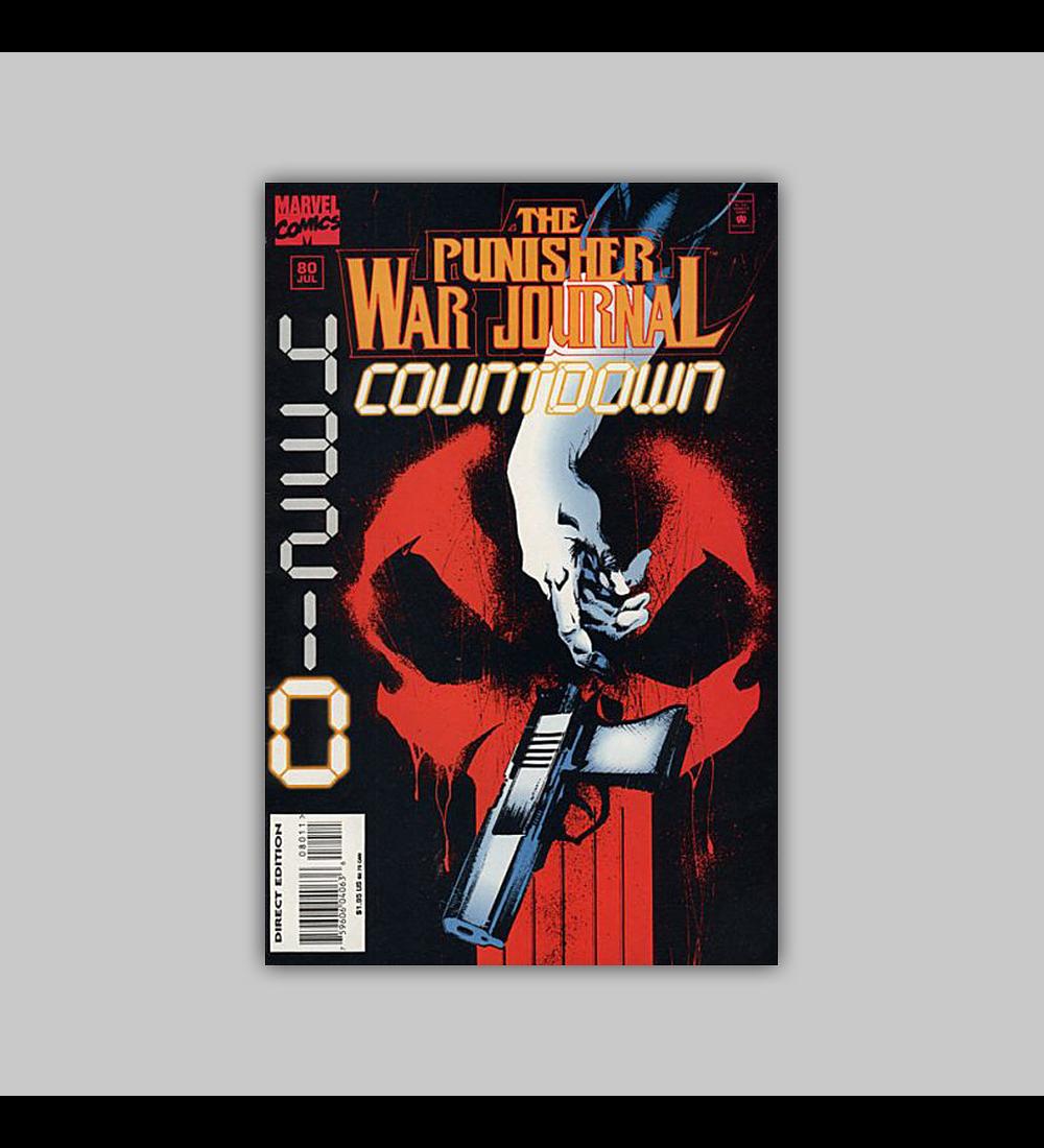The Punisher War Journal 80 1995