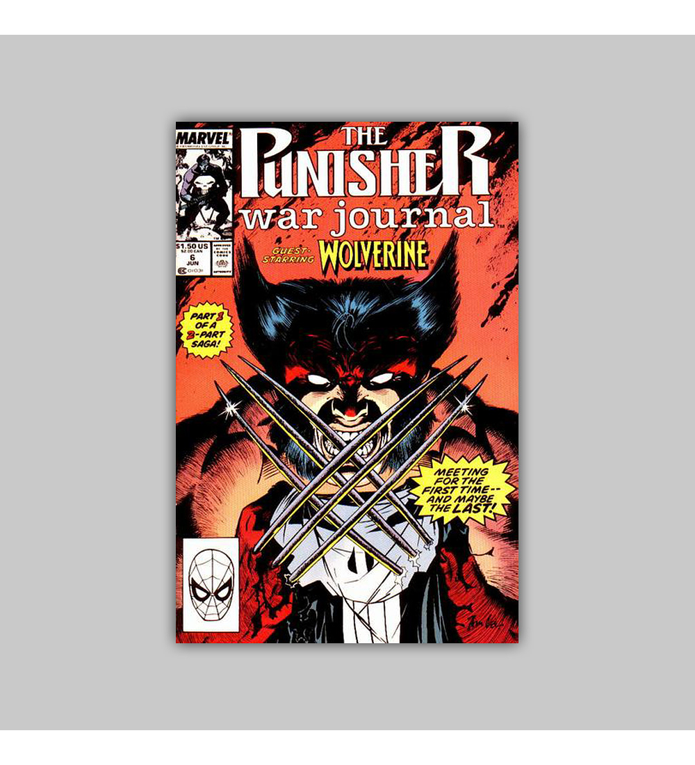 The Punisher War Journal 6 1989