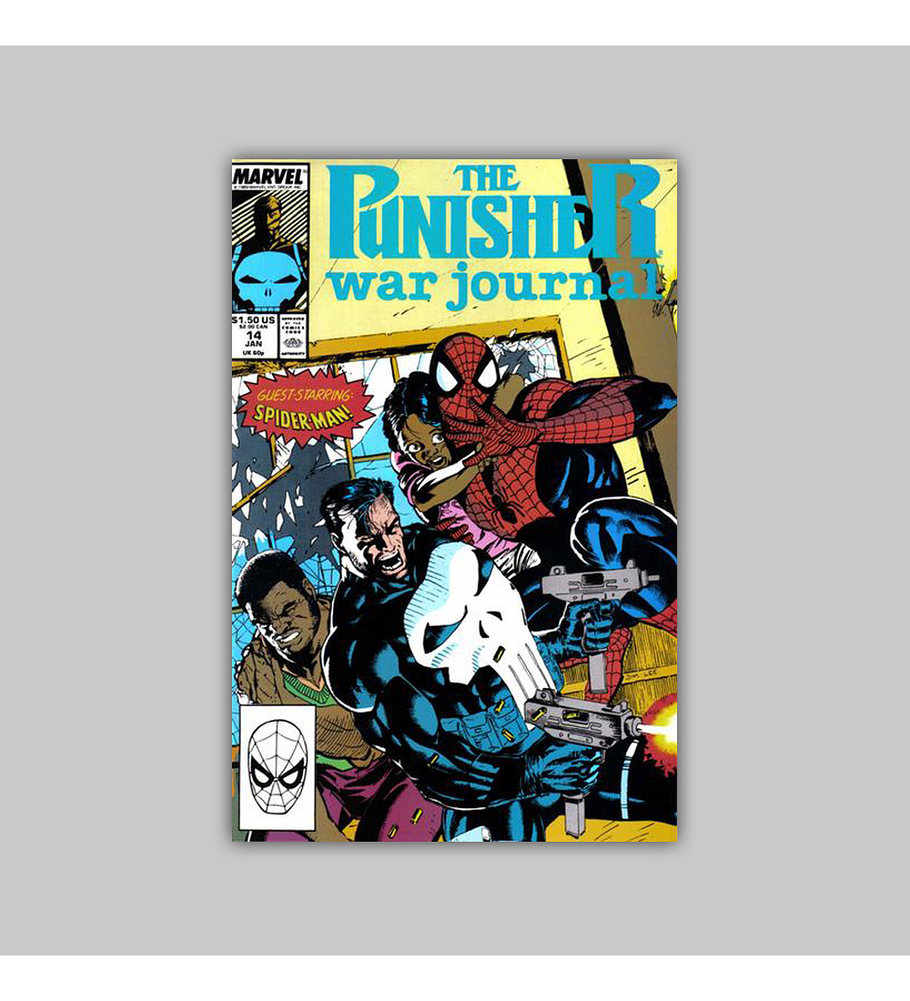 The Punisher War Journal 14 1990
