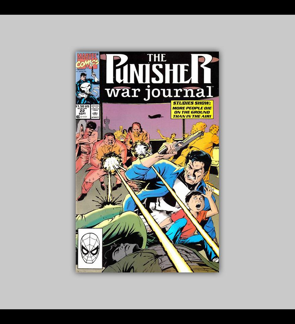 The Punisher War Journal 22 1990