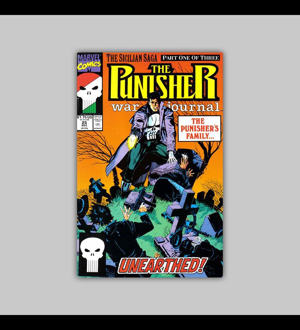 The Punisher War Journal 25 1990
