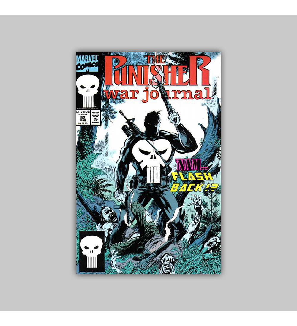 The Punisher War Journal 52 1993