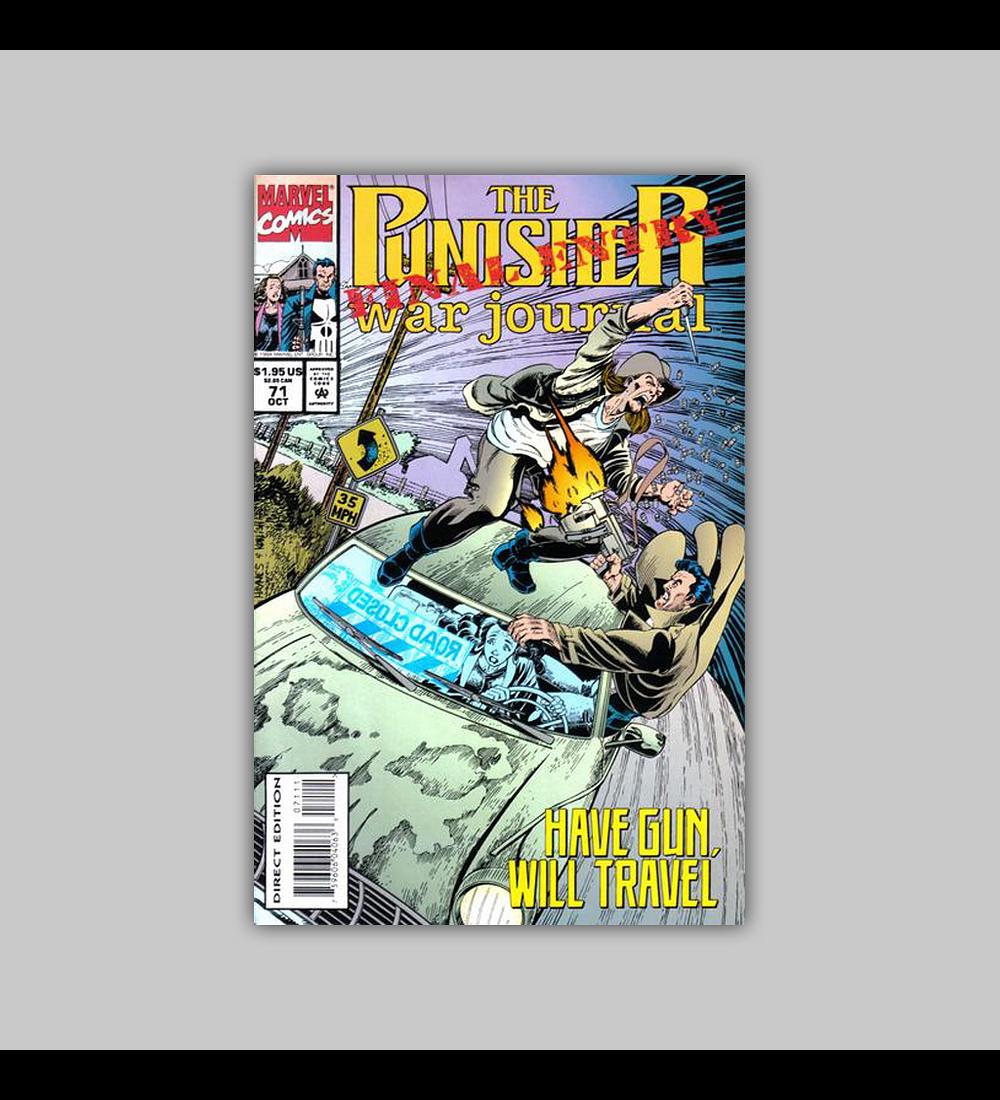 The Punisher War Journal 71 1994