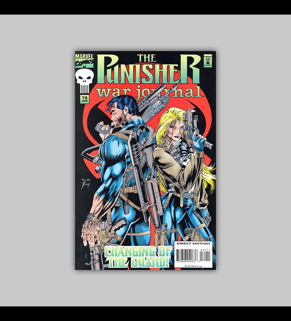 The Punisher War Journal 74 1995