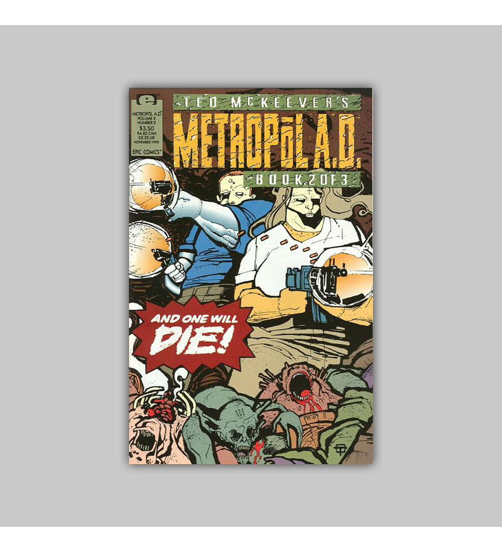 Ted McKeever's Metropol A. D. 2 1992