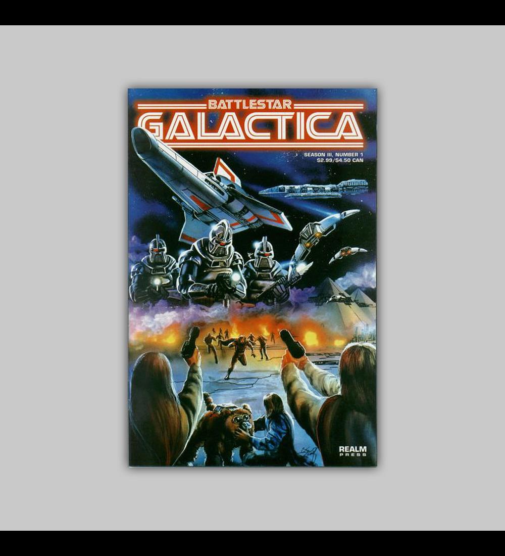 Battlestar Galactica Season III 1 1999