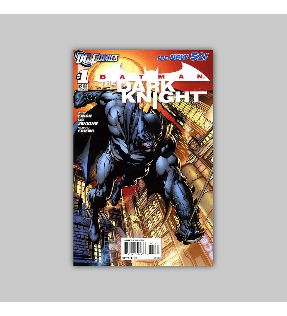 Batman: The Dark Knight (Vol. 2) 1 2011