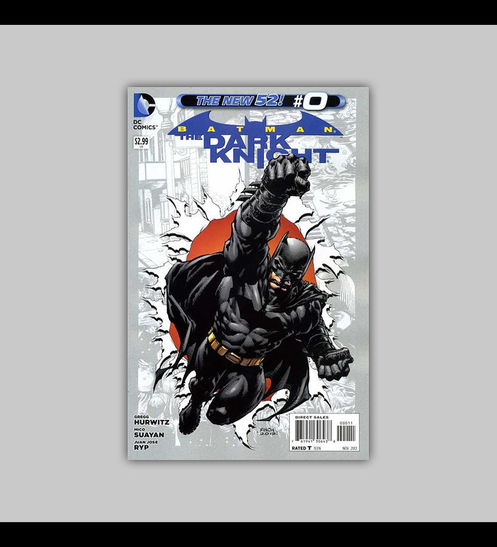 Batman: The Dark Knight (Vol. 2) 0 2012