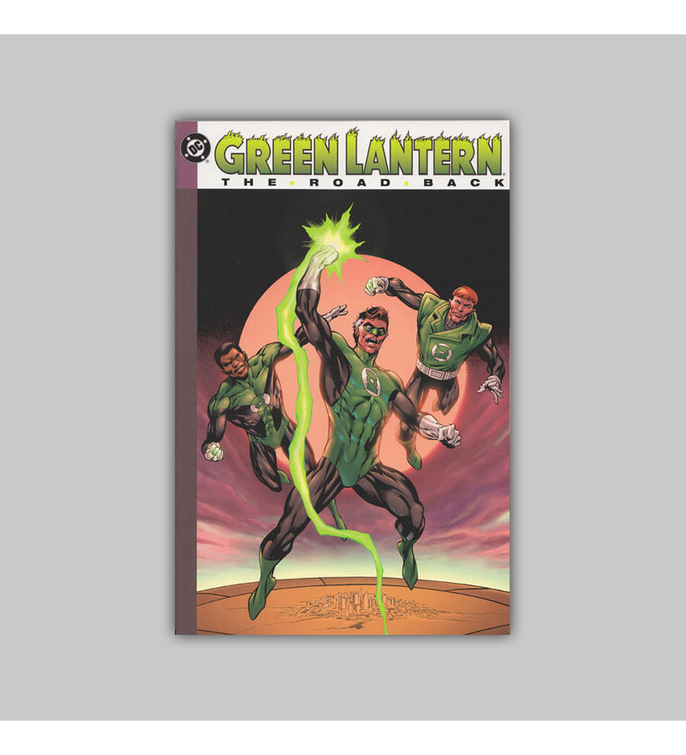 Green Lantern: The Road Back 2nd printing 2003