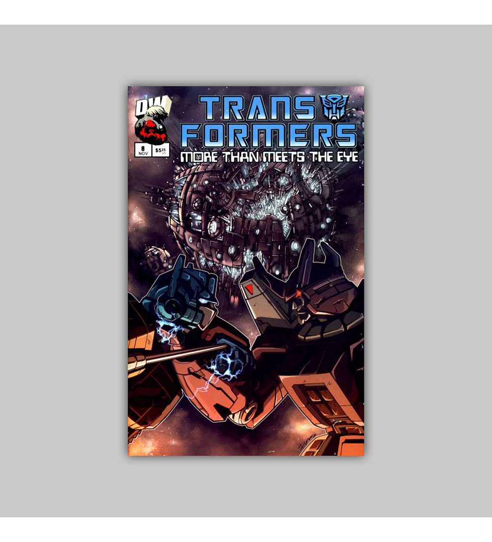 Transformers More Than Meets the Eye Official Guide 8 2003