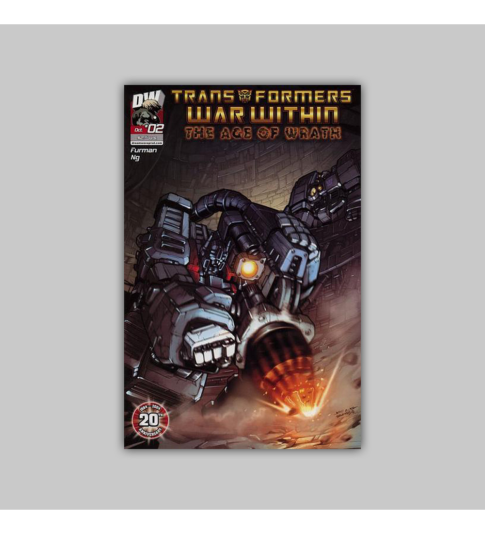 Transformers War Within: The Age of Wrath 2 2004