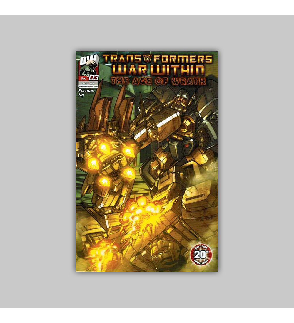 Transformers War Within: The Age of Wrath 3 2004