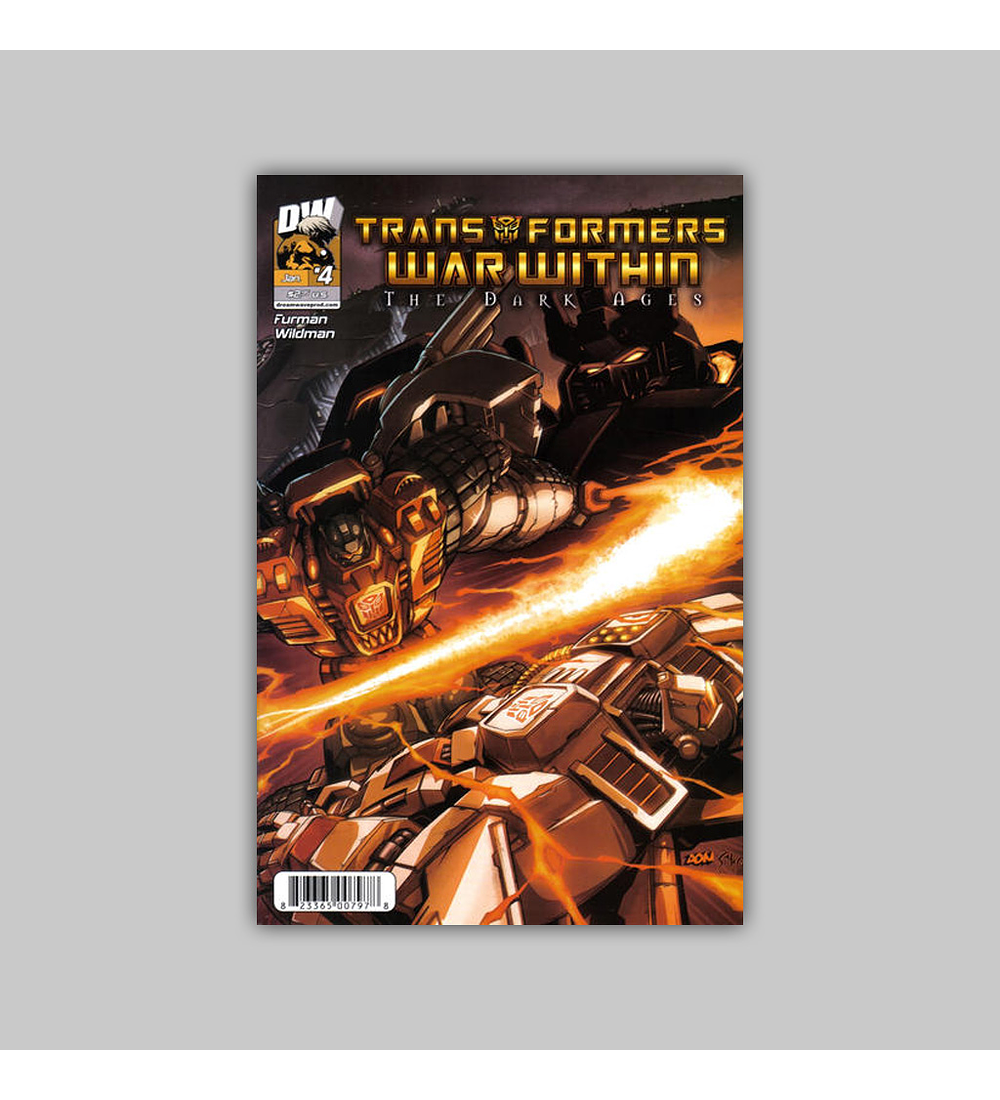 Transformers War Within: The Dark Ages 4 2004
