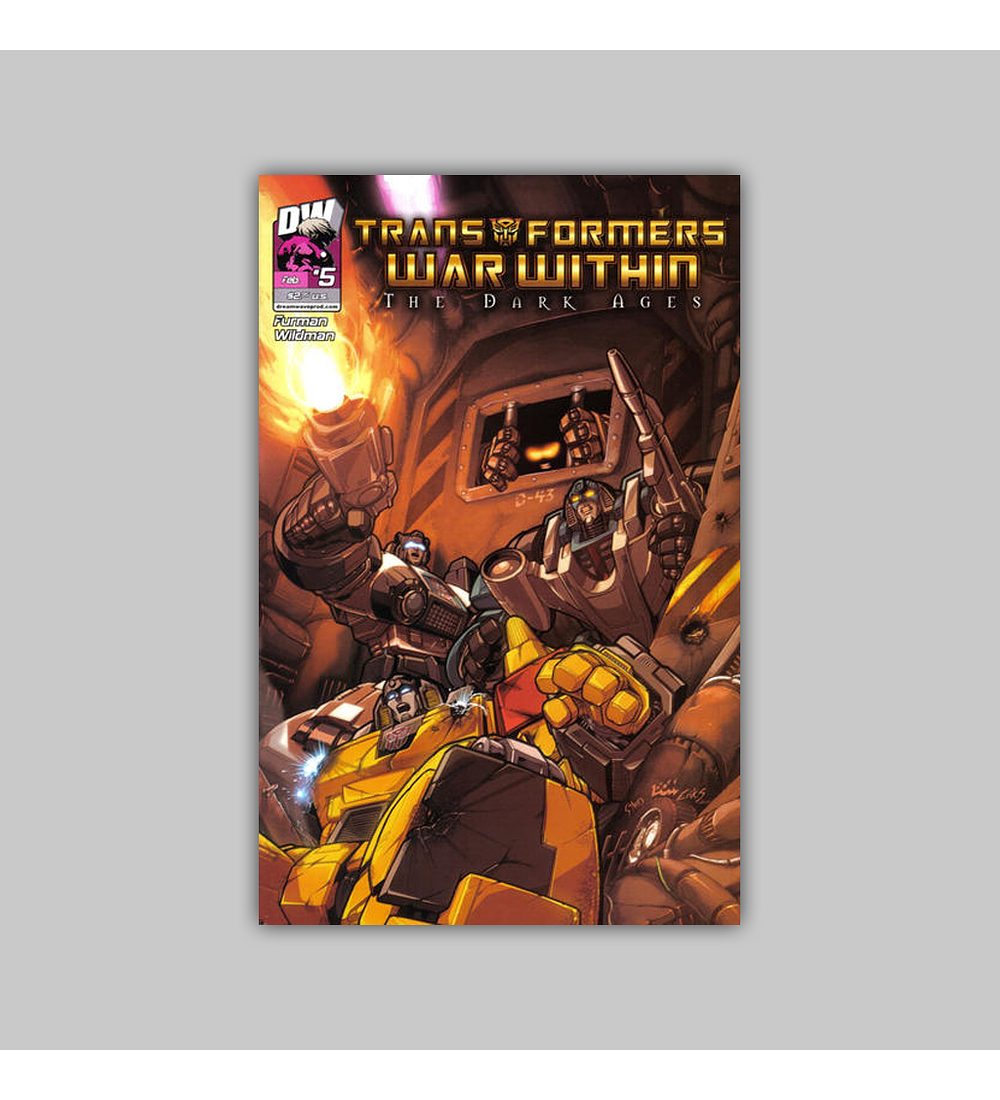 Transformers War Within: The Dark Ages 5 2004