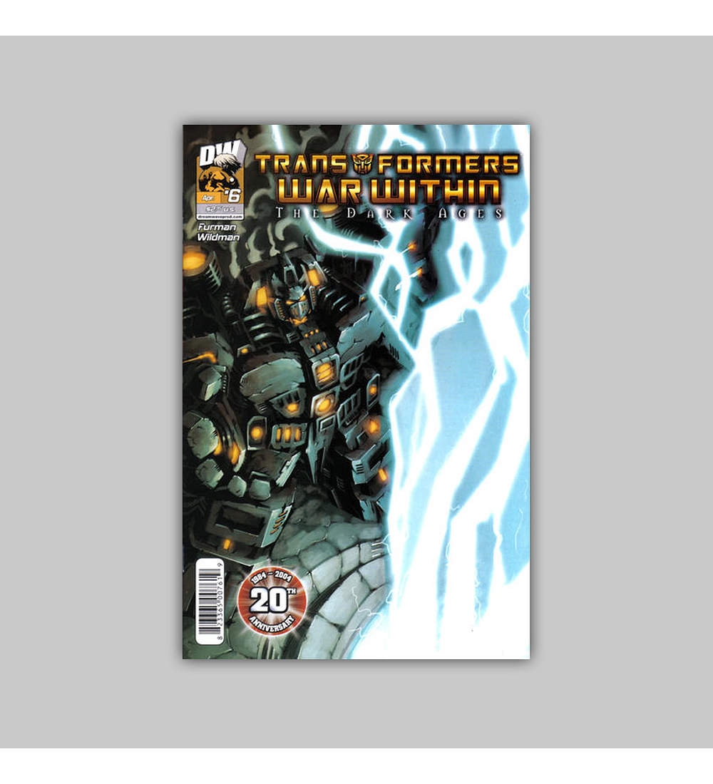 Transformers War Within: The Dark Ages 6 2004