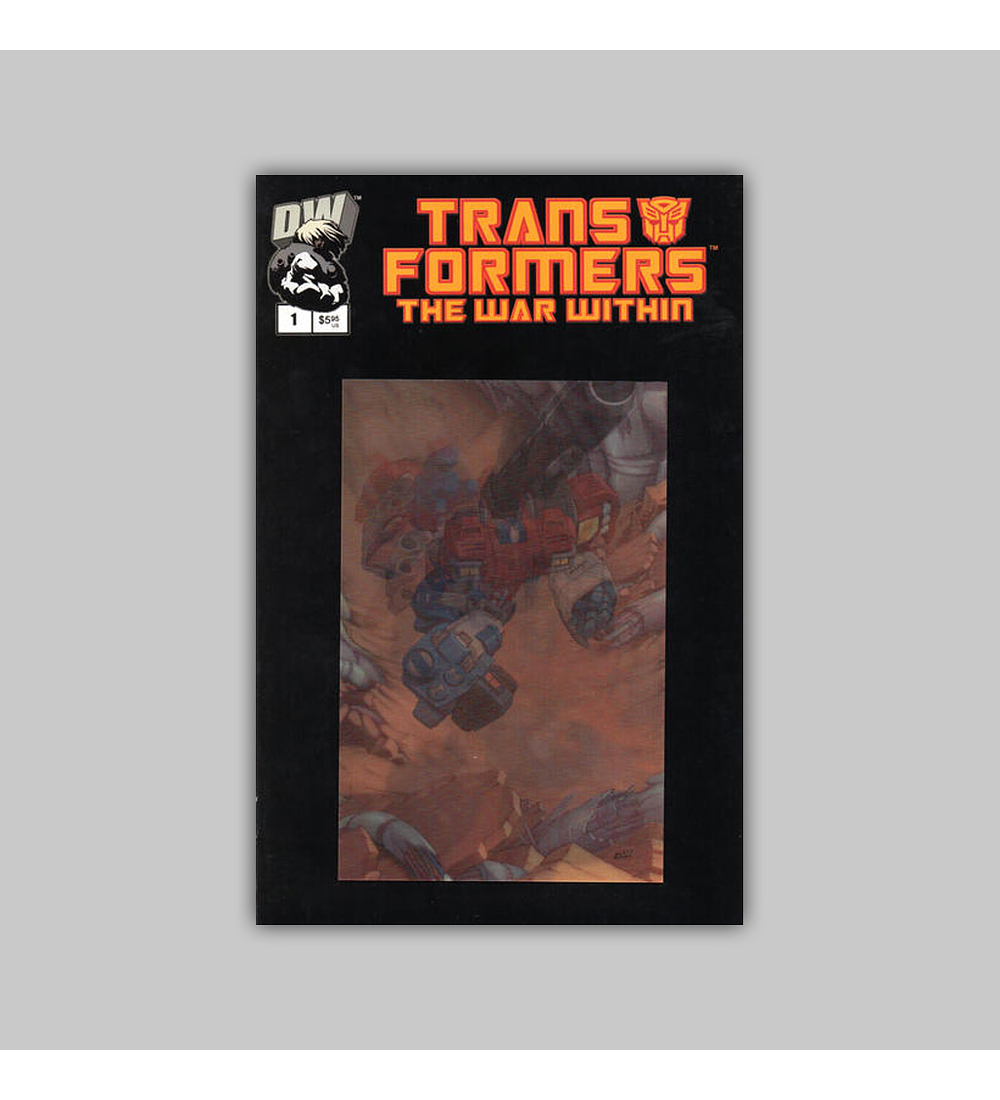 Transformers: The War Within 1 Lenticular 2002