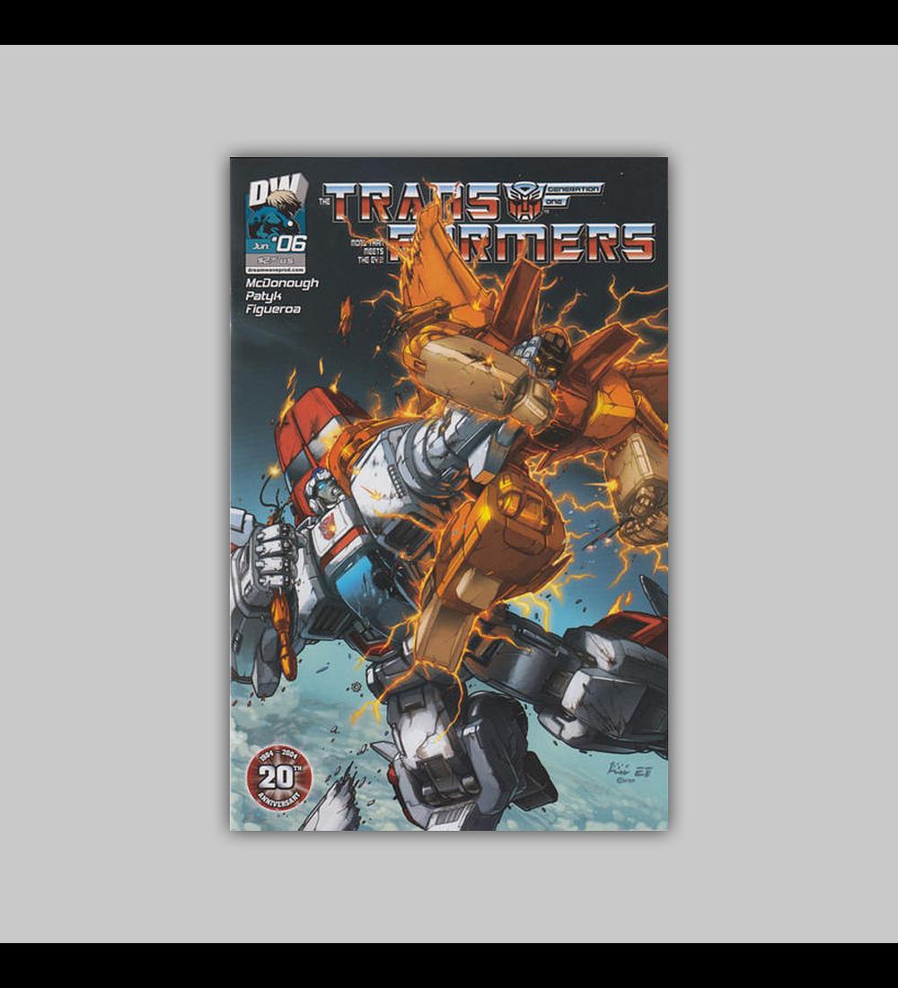 Transformers: Generation One (Vol. 3) 6 2004