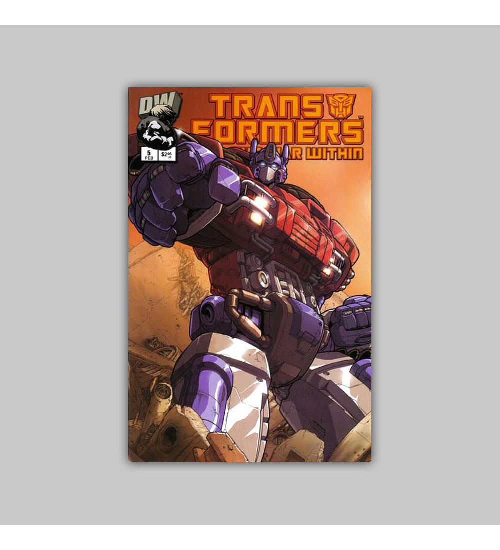 Transformers: The War Within 5 Optimus Prime 2003