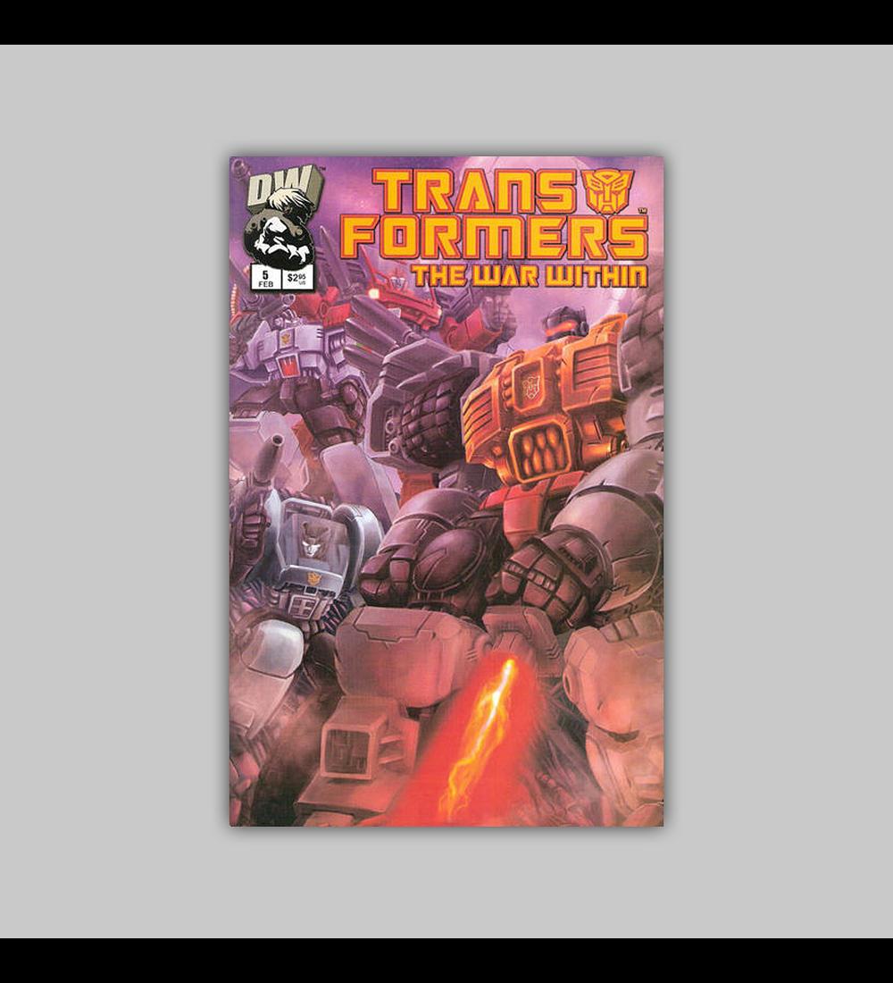 Transformers: The War Within 5 Grimlock 2003