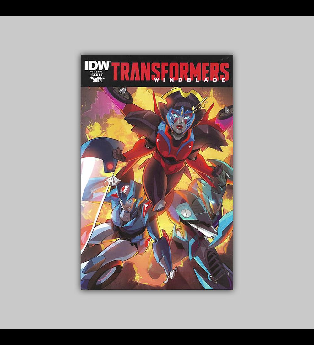 Transformers: Windblade (Vol. 2) 5 2015