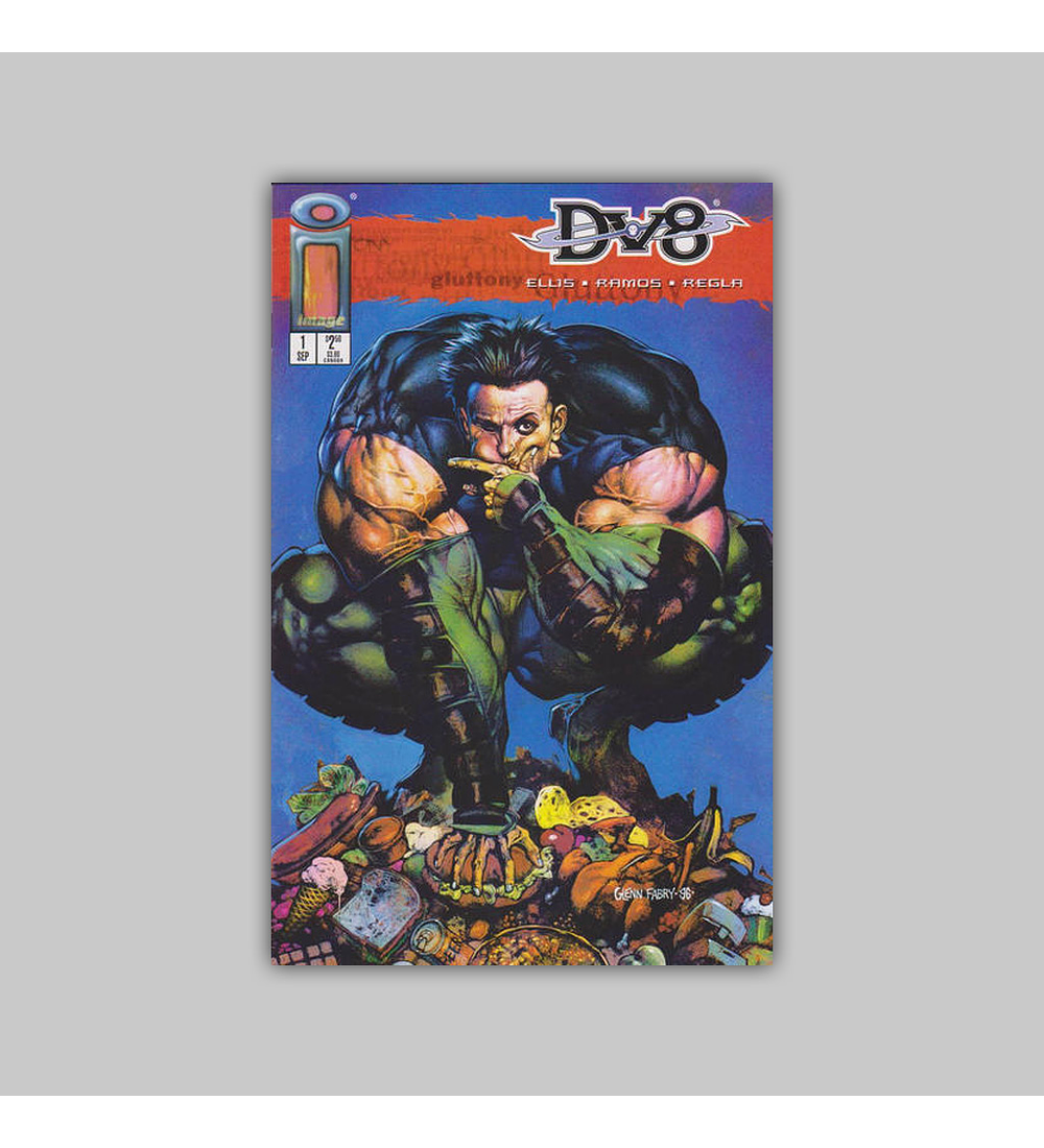 DV8 (complete set of eight different covers) 1 1996