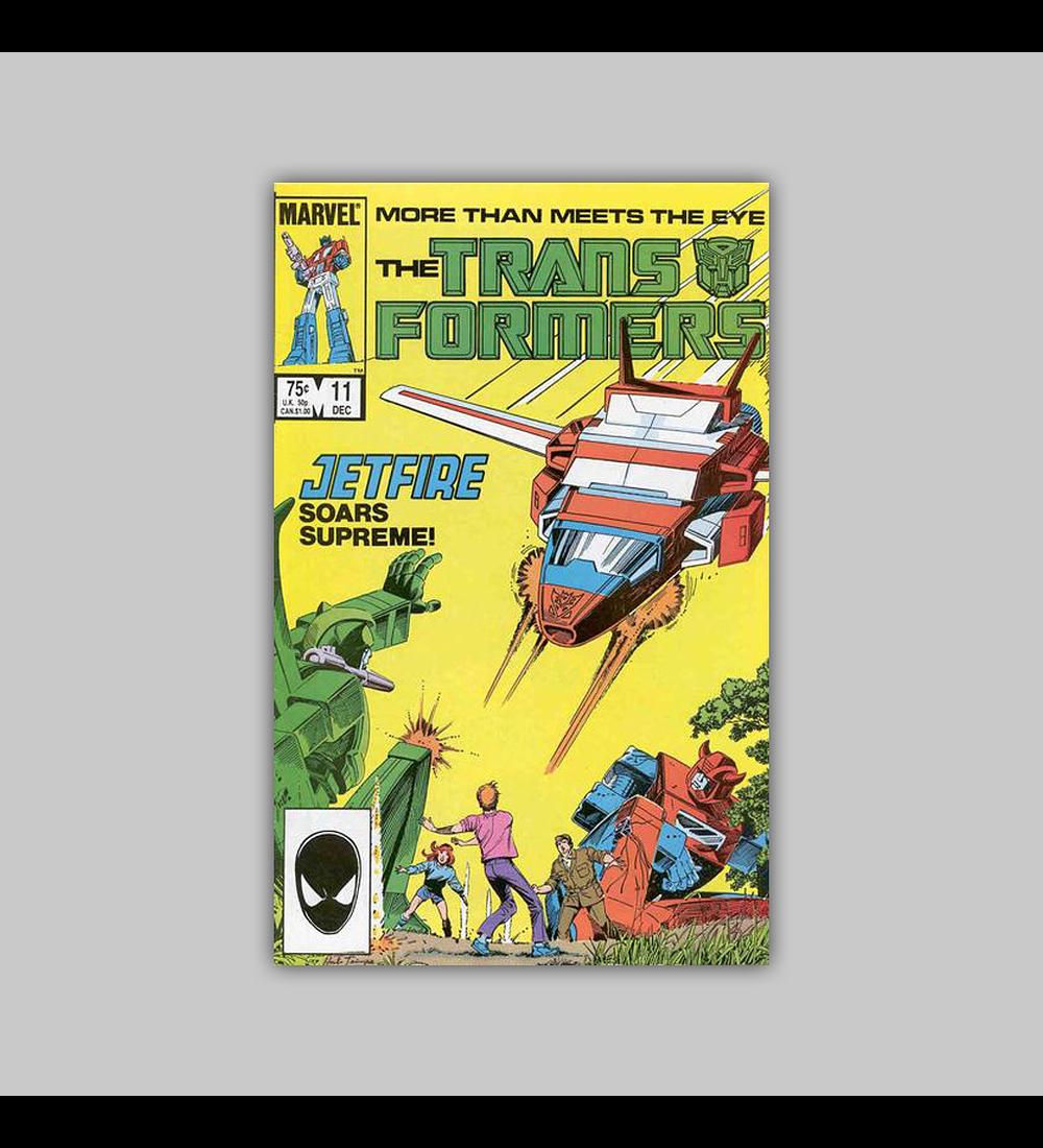 Transformers 11 VF/NM (9.0) 1985