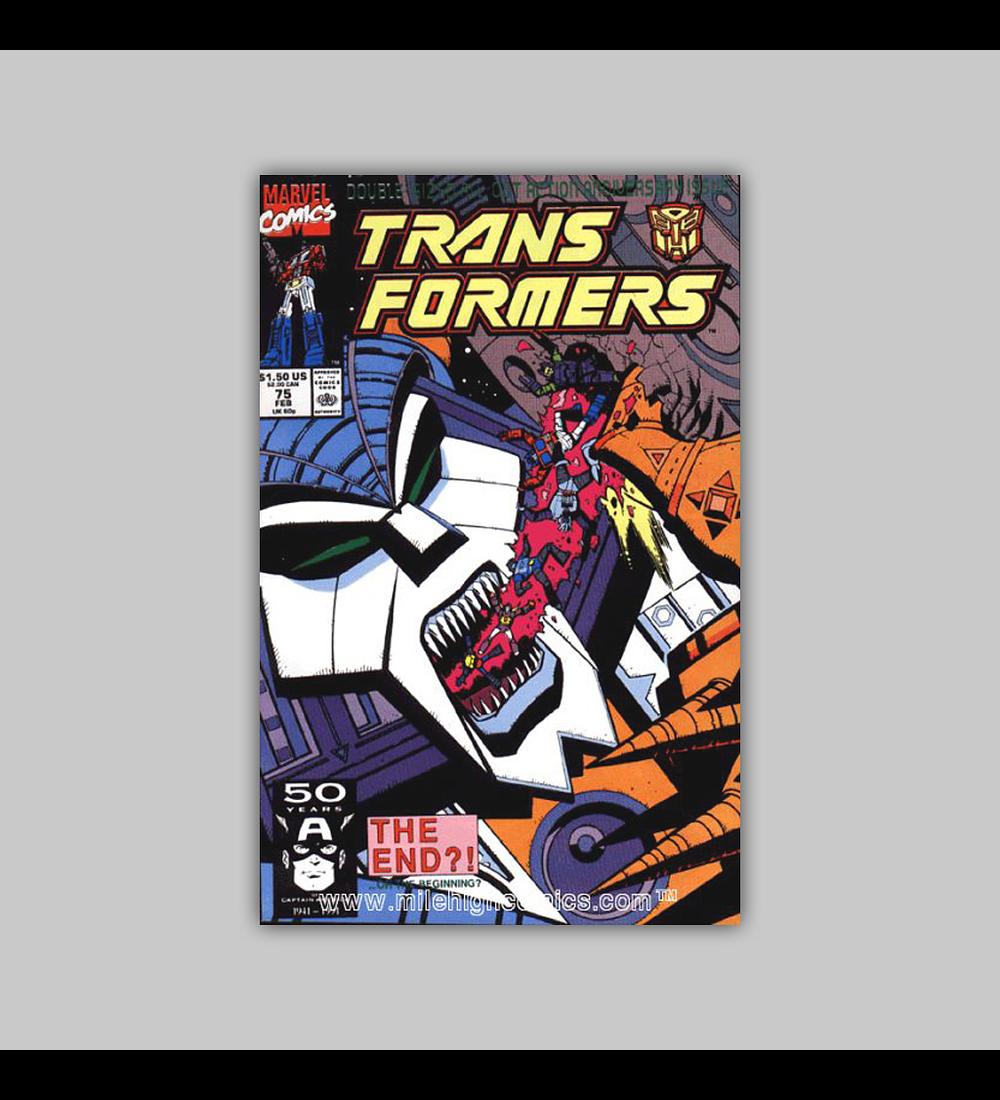 Transformers 75 VF/NM (9.0) 1991