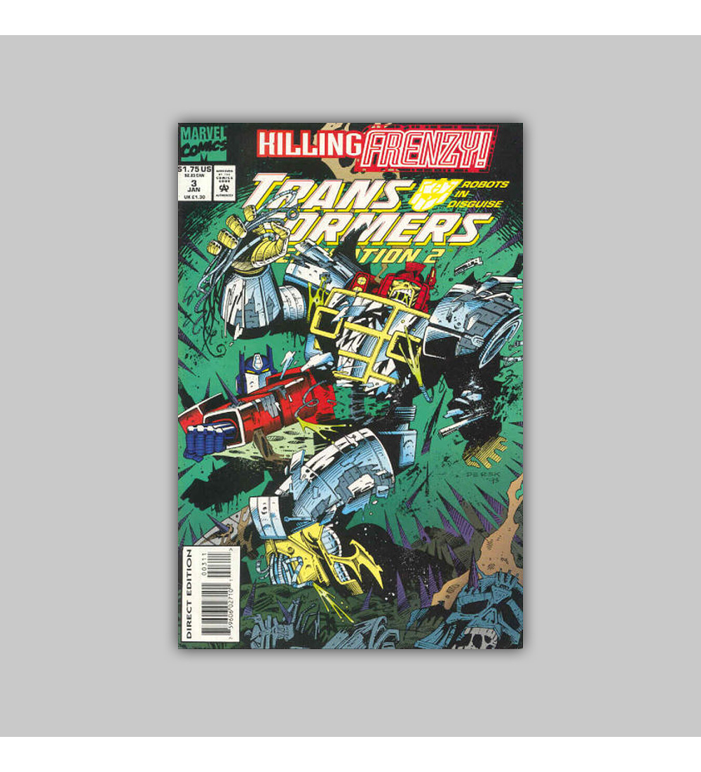 Transformers: Generation 2 3 1994