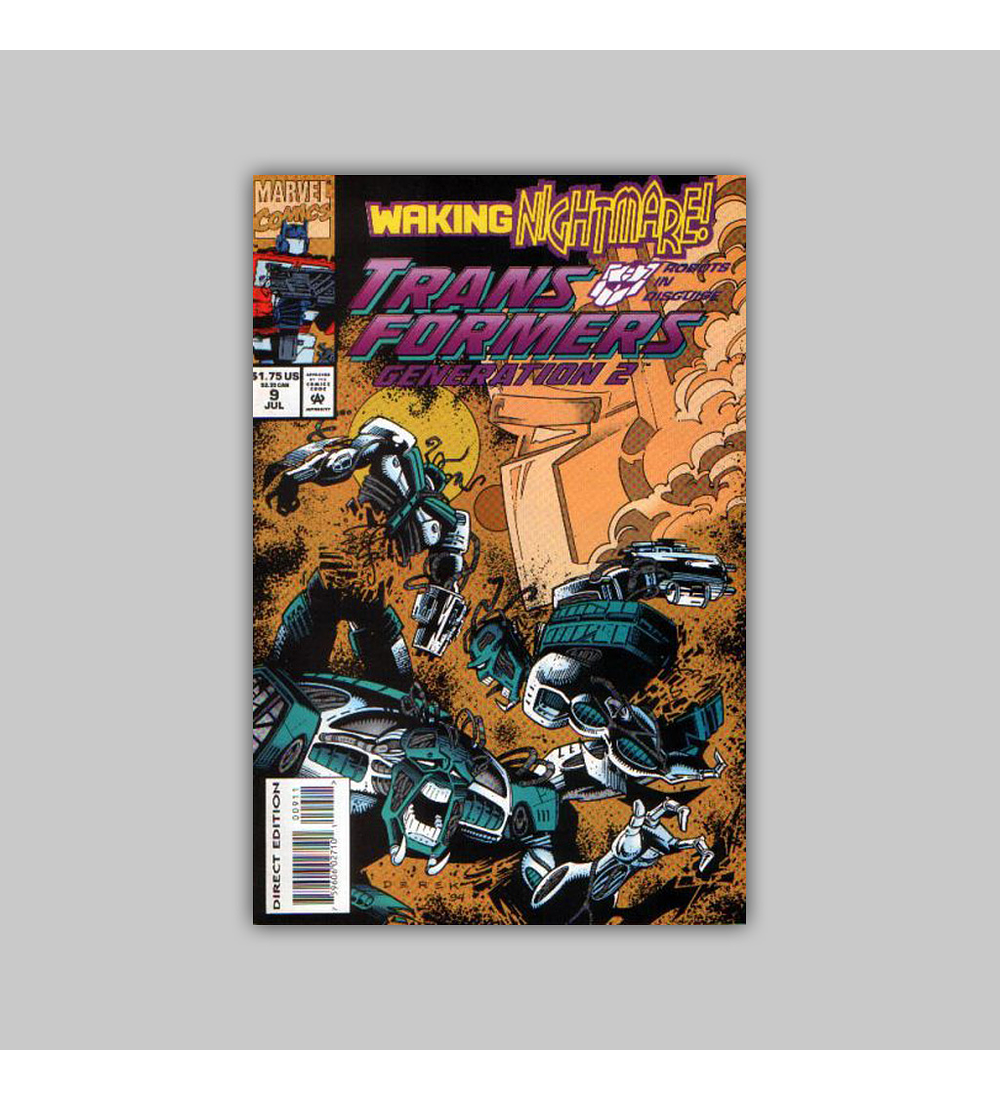 Transformers: Generation 2 9 1994