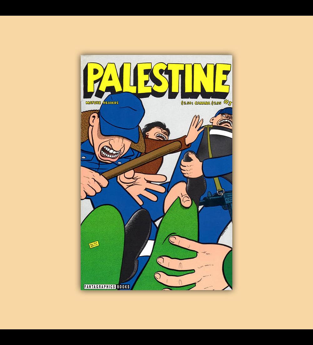 Palestine 3 Signed 1993