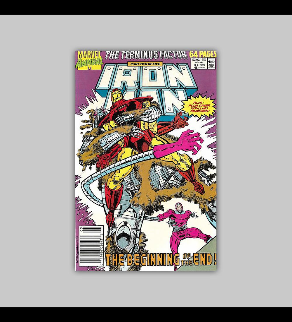Iron Man Annual 11 1990