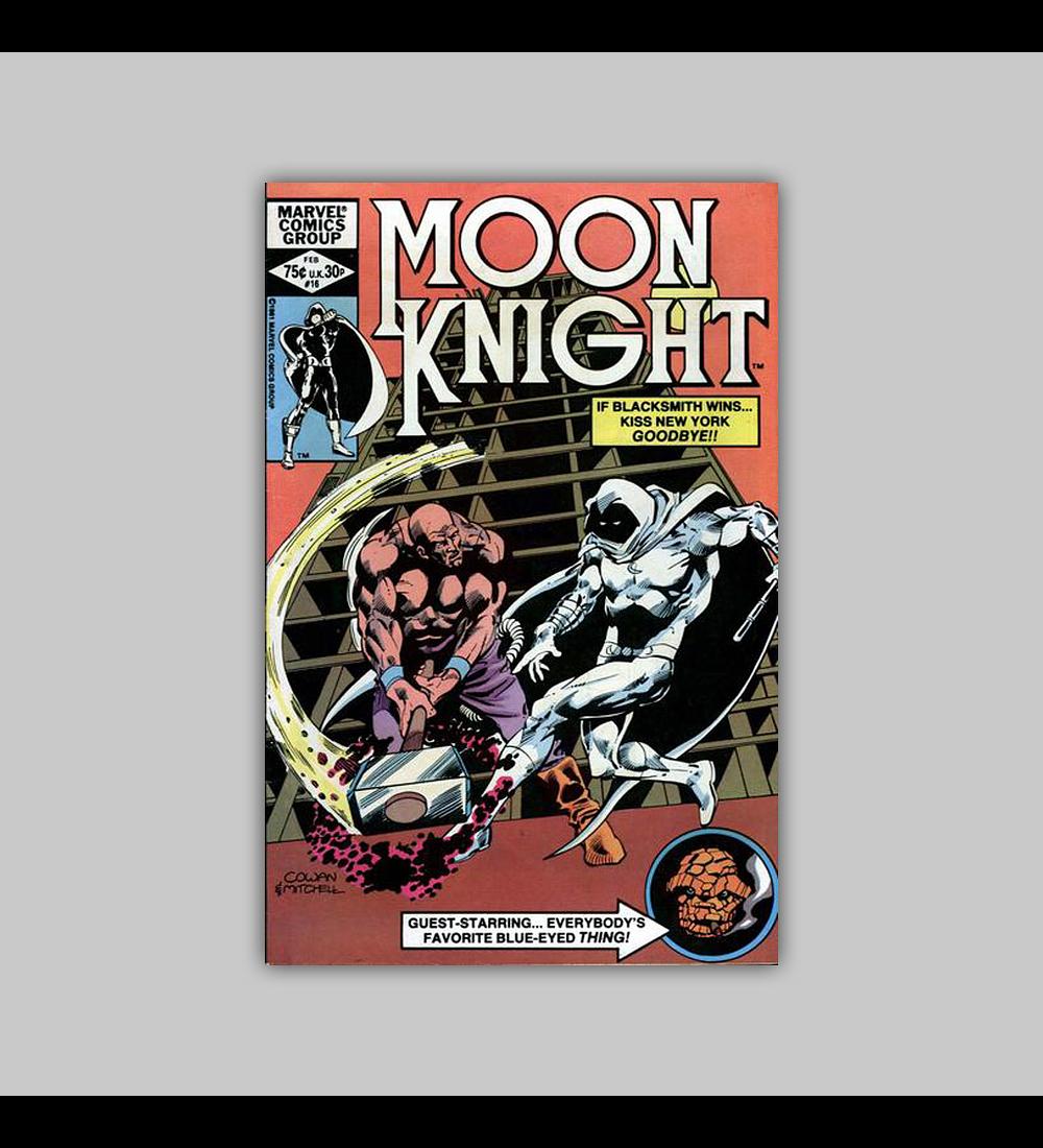 Moon Knight 16 1982