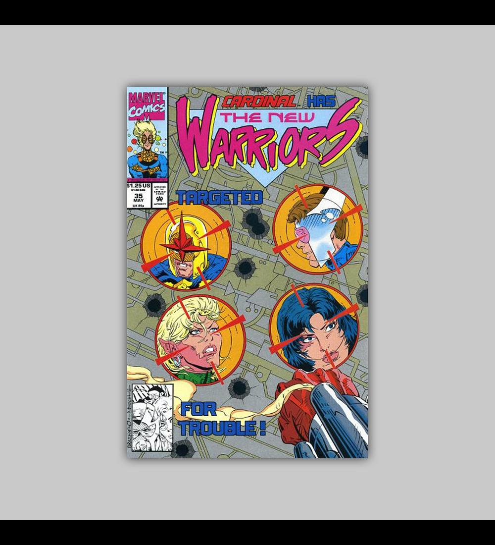 New Warriors 35 1993