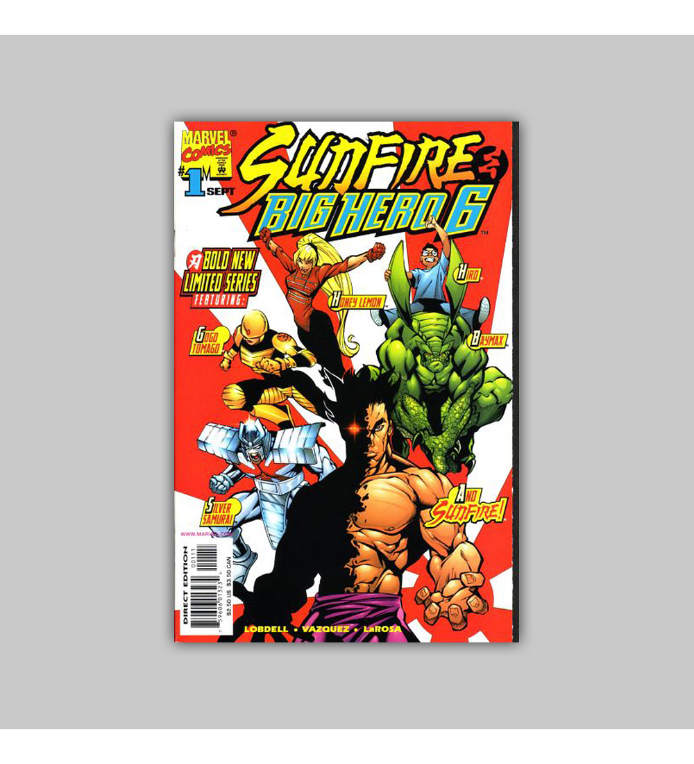 Sunfire & Big Hero 6 1 VF/NM (9.0) 1998