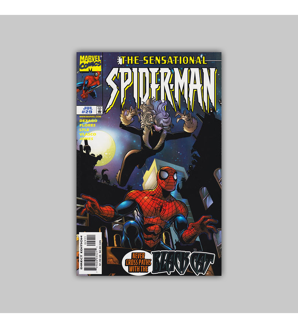 The Sensational Spider-Man 29 1998