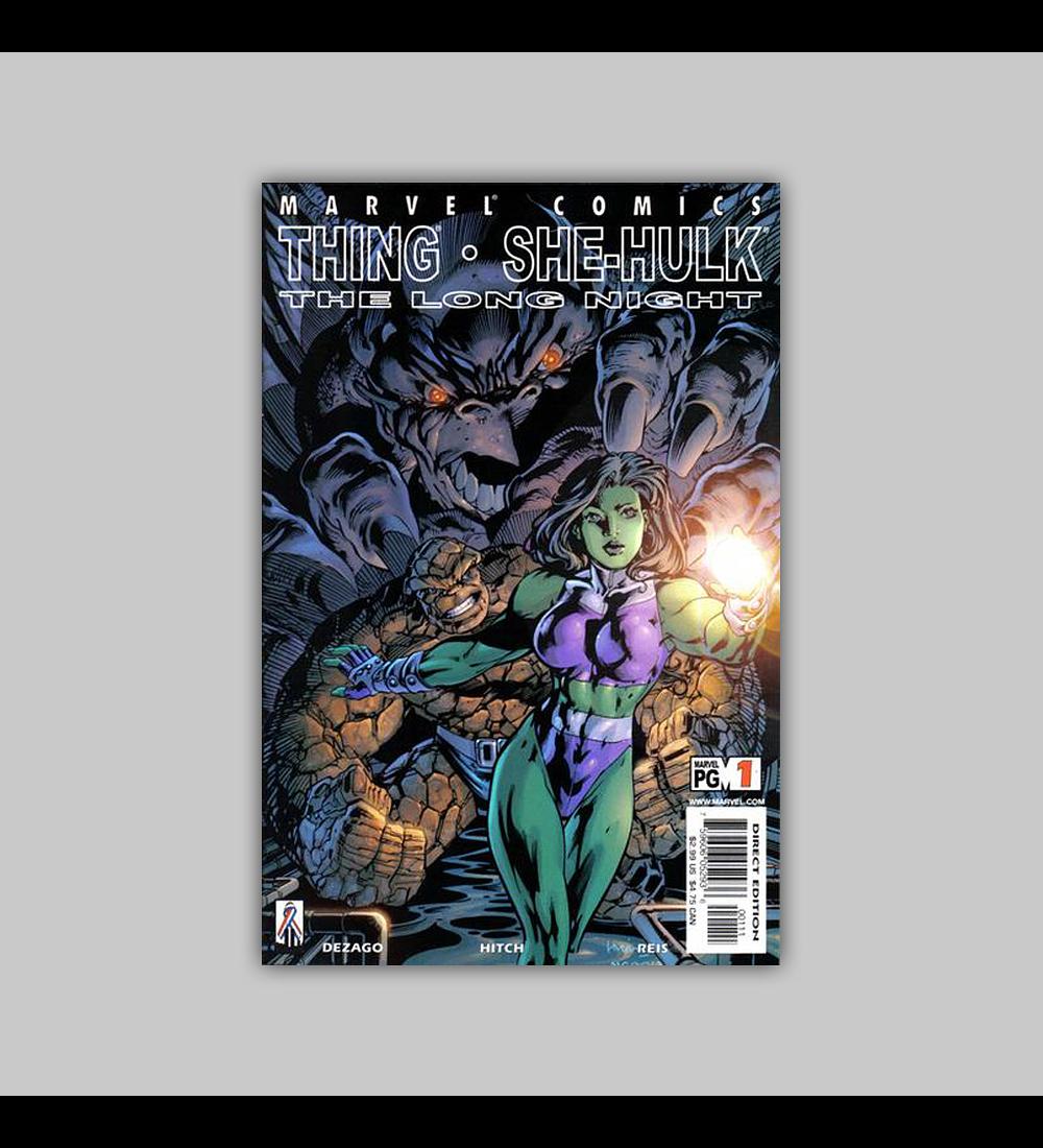 Thing/She Hulk 2002
