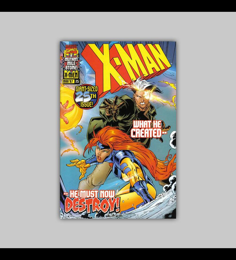 X-Man 25 1997