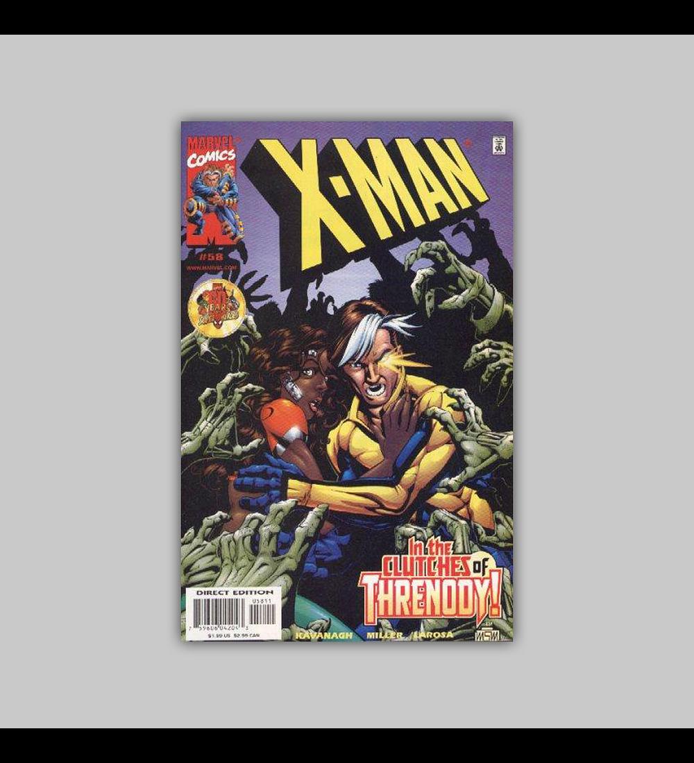 X-Man 58 1999