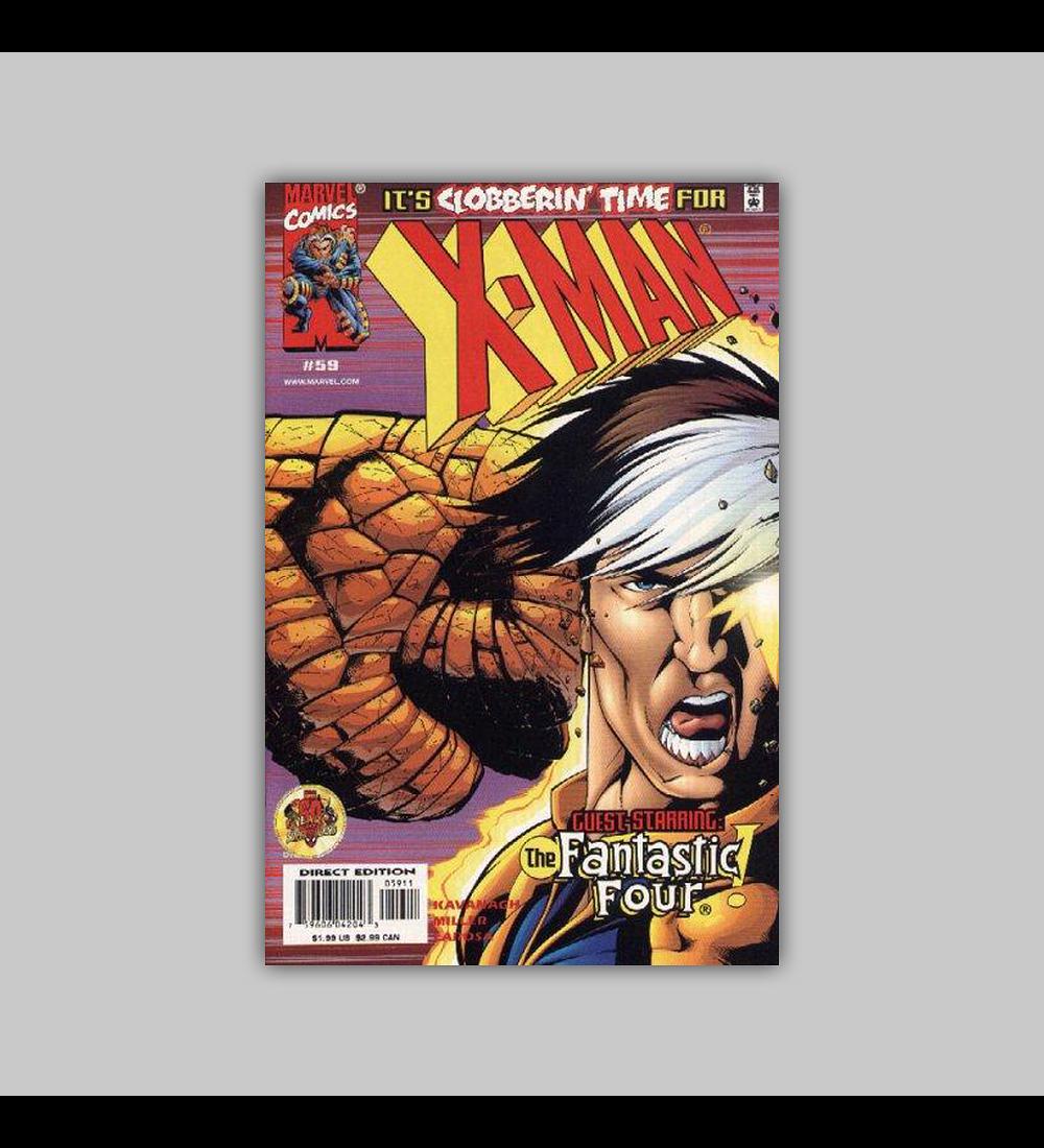 X-Man 59 2000
