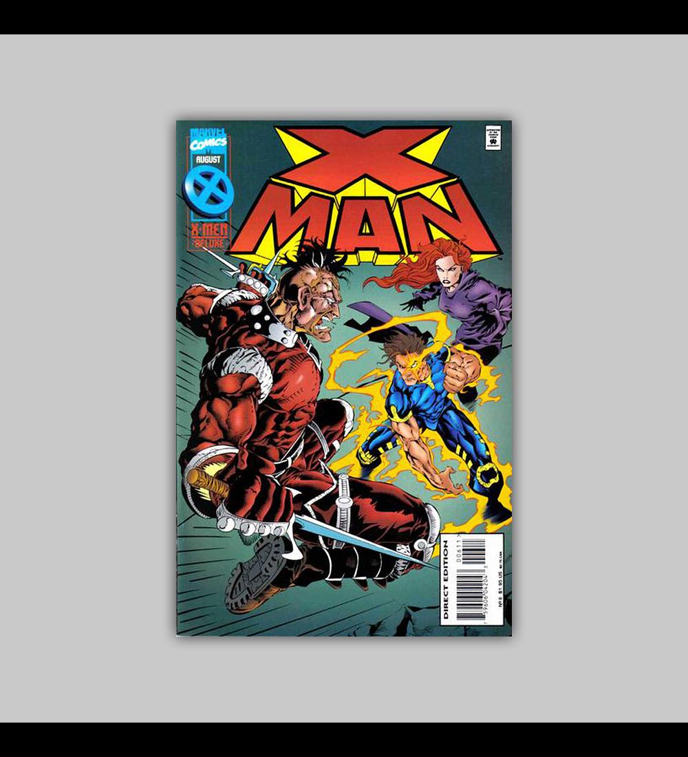X-Man 6 1995