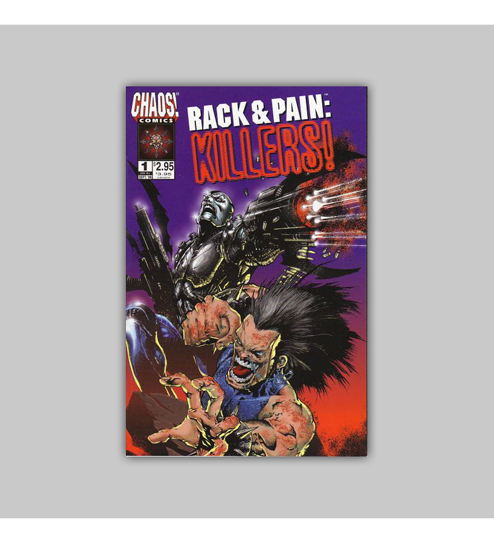 Rack & Pain: Killers! (complete limited series) 1996