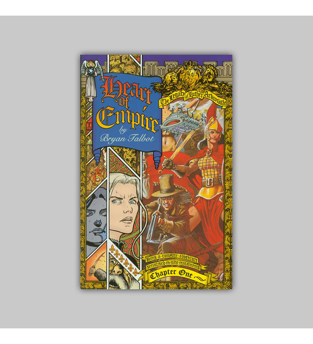 Heart of the Empire: The Legacy of Luther Arkwright 1 1999