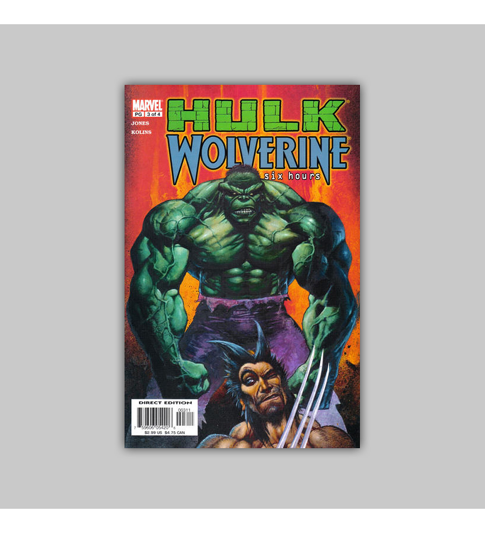 Hulk/Wolverine: Six Hours (complete limited series) 2003