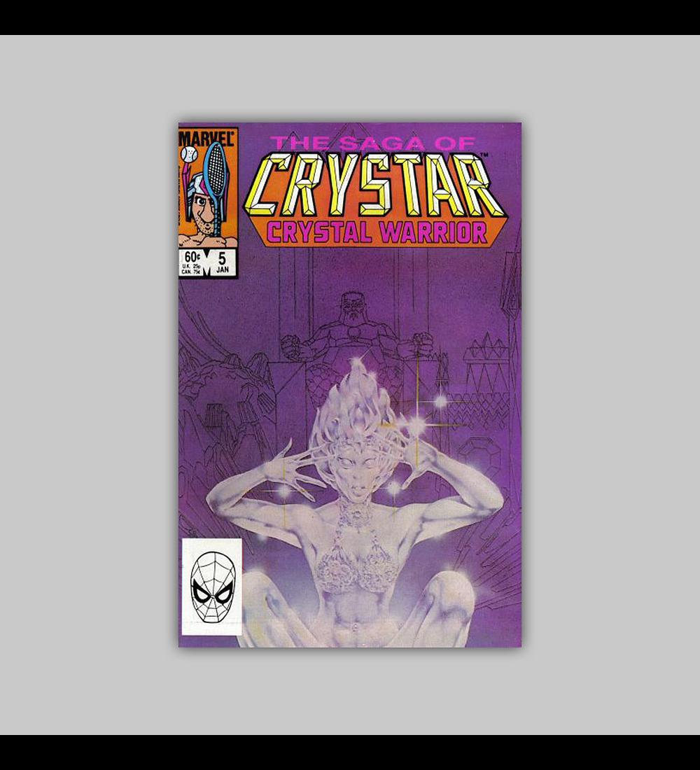 Saga of Crystar, Crystal Warrior 5 1984