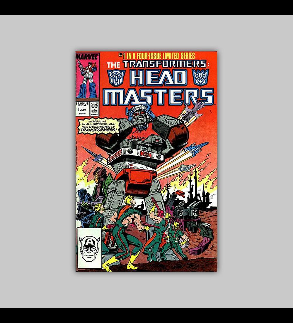 Transformers; Headmasters 1 1987